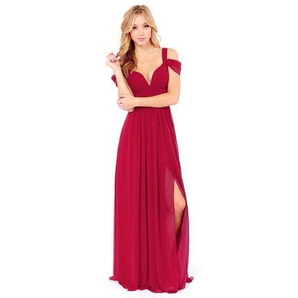 **พรีออเดอร์** ชุดเดรสผู้หญิงแฟชั่นยุโรปใหม่ แขนกุด แบบเก๋ เท่ห์ / **Preorder** New European Fashion Slim Sexy Sleeveless Fairy Dress