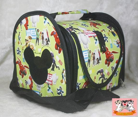 กระเป๋าสะพายทรงแข็ง ไซส์ L 2