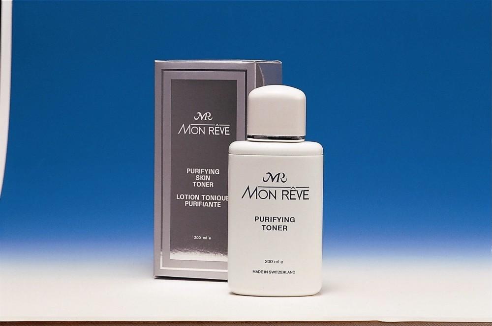 MONRỆVE PURIFYING SKIN TONER For oily & Problem skin สามารถขจัดคราบเครื่องสำอาง ช่วยกระชับรูขุมขน ให้ผิวหน้าคุณ..หมดปัญหารูขุมขนกว้างกันซักที