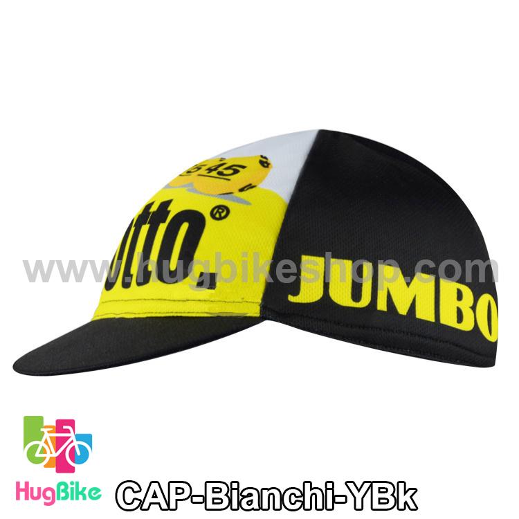 หมวกแก๊บ Bianchi 15 (02) สีเหลืองดำ
