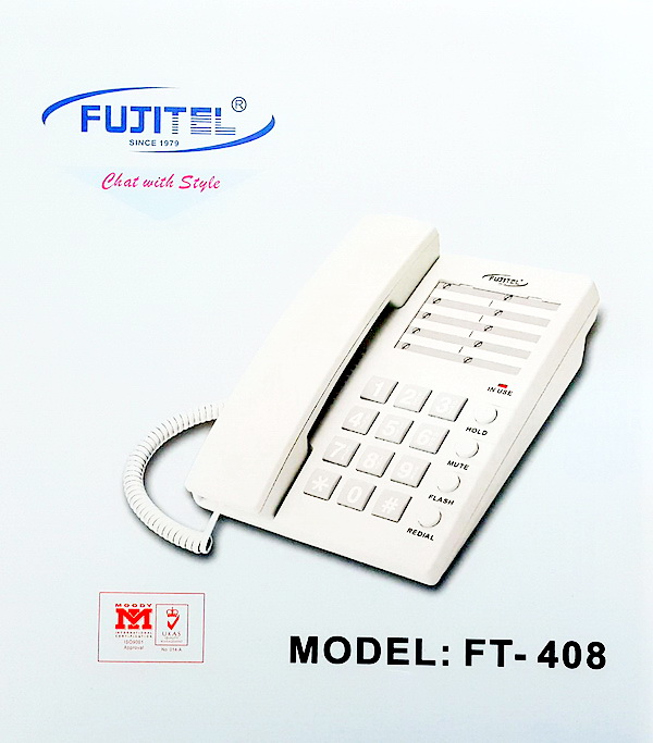Fujitel FT-408/White