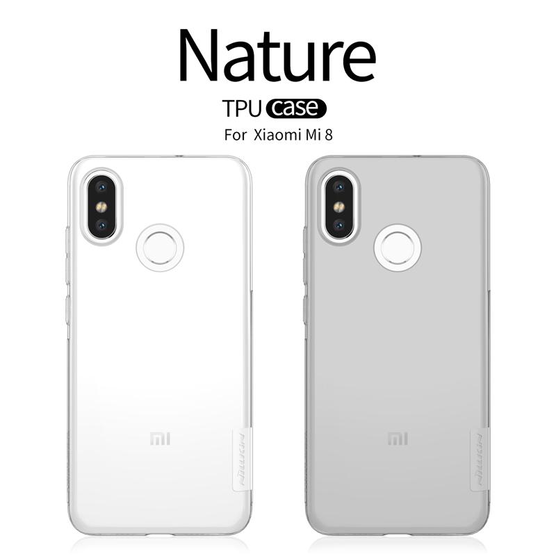 เคสมือถือ Xiaomi Mi8 รุ่น Nature TPU Case