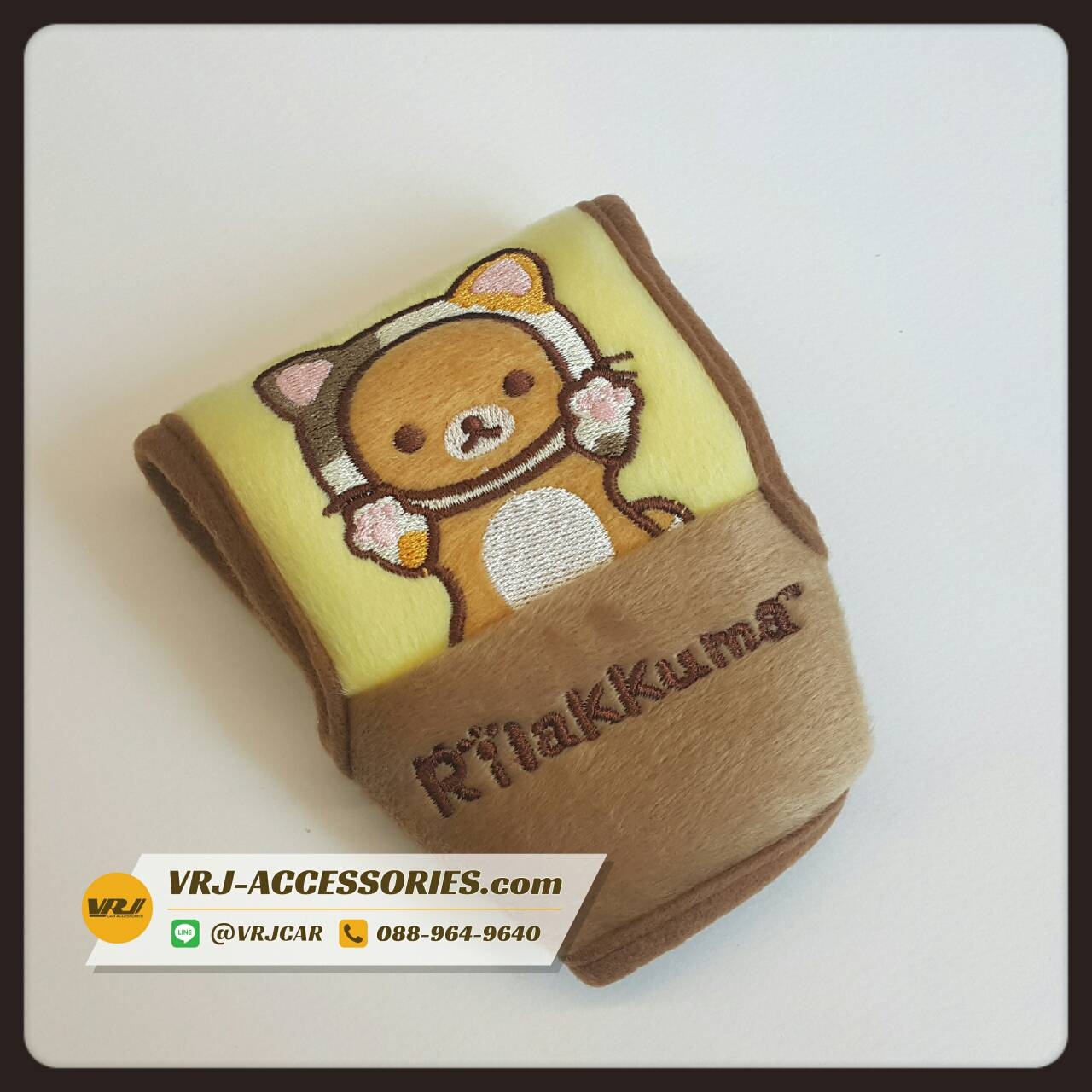 Rilakkuma หุ้มเกียร์ ออโต้ ริลัคคุมะ หมีแมว Knob cover