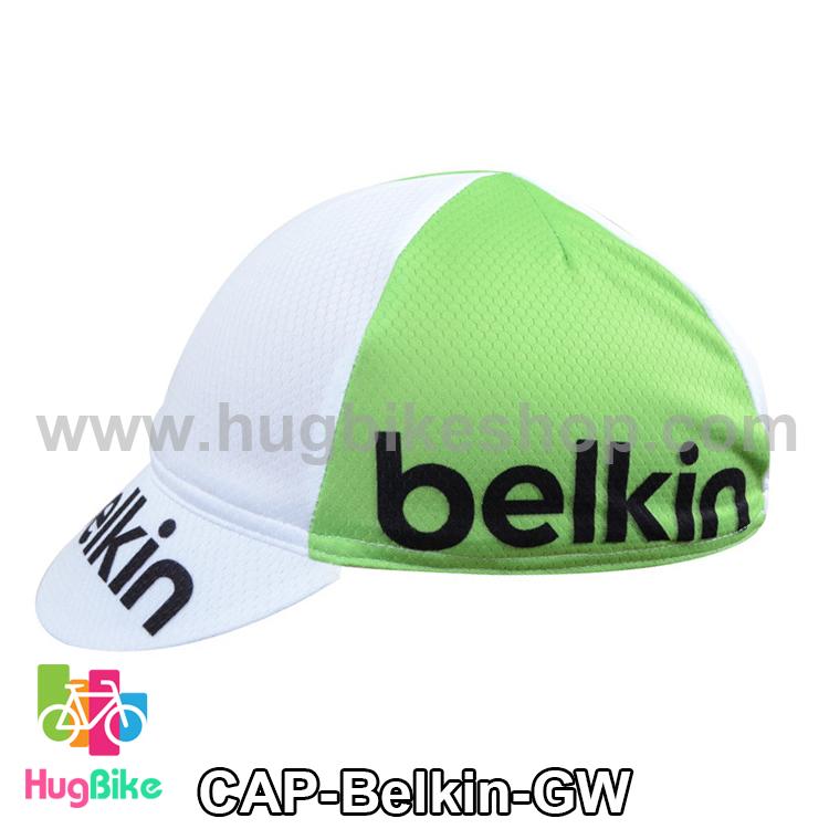 หมวกแก๊บ Belkin (01) สีเขียวขาว