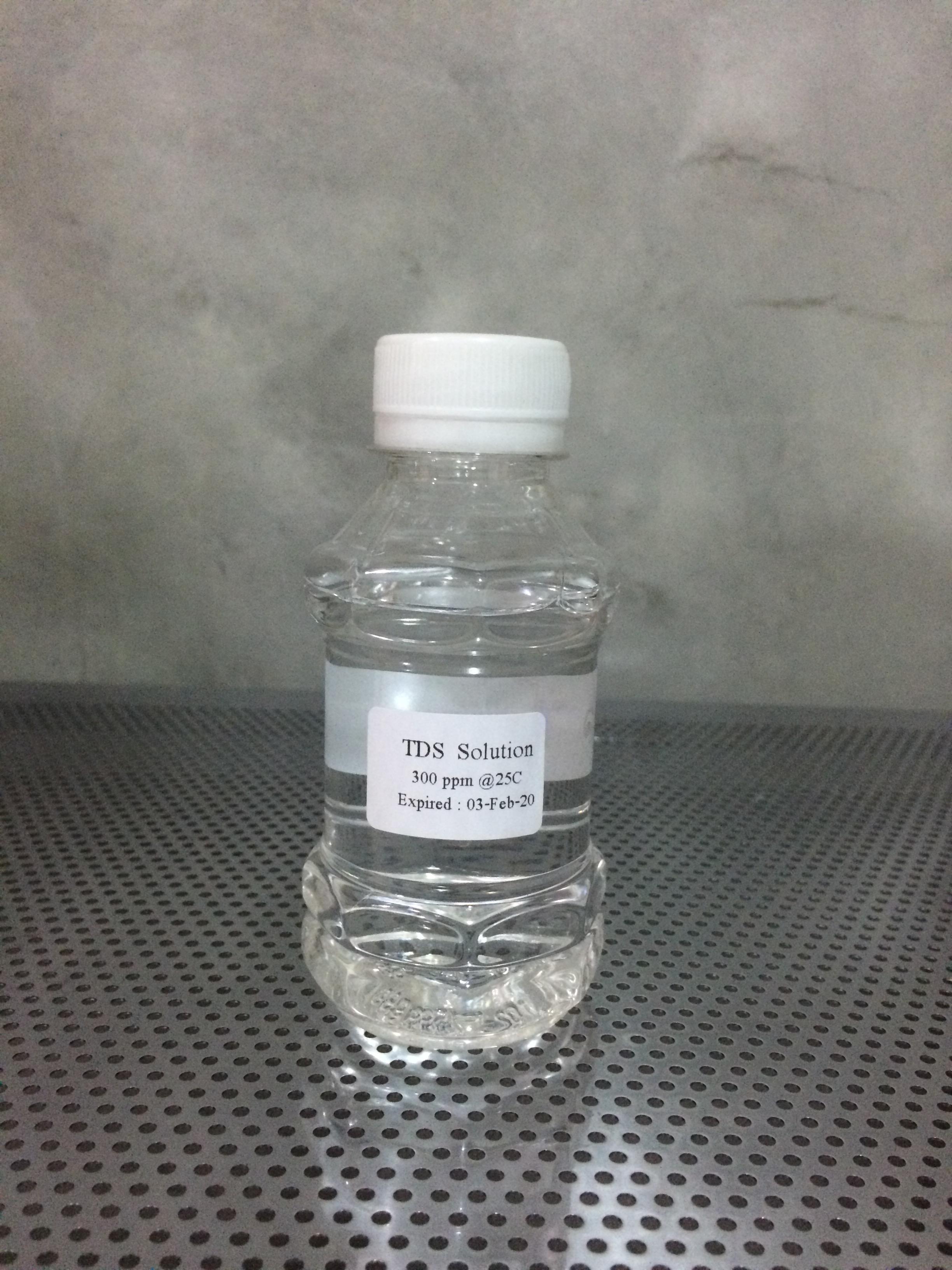 น้ำยาสอบเทียบ TDS 300 PPM