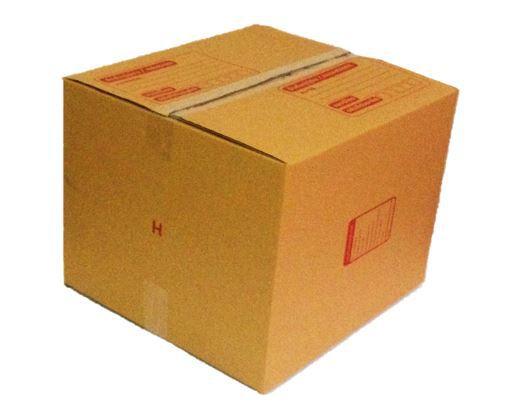 กล่องไปรษณีย์ฝาชนเบอร์ H ขนาด 41 X 45 X 35 cm. ใบละ 20 บาท