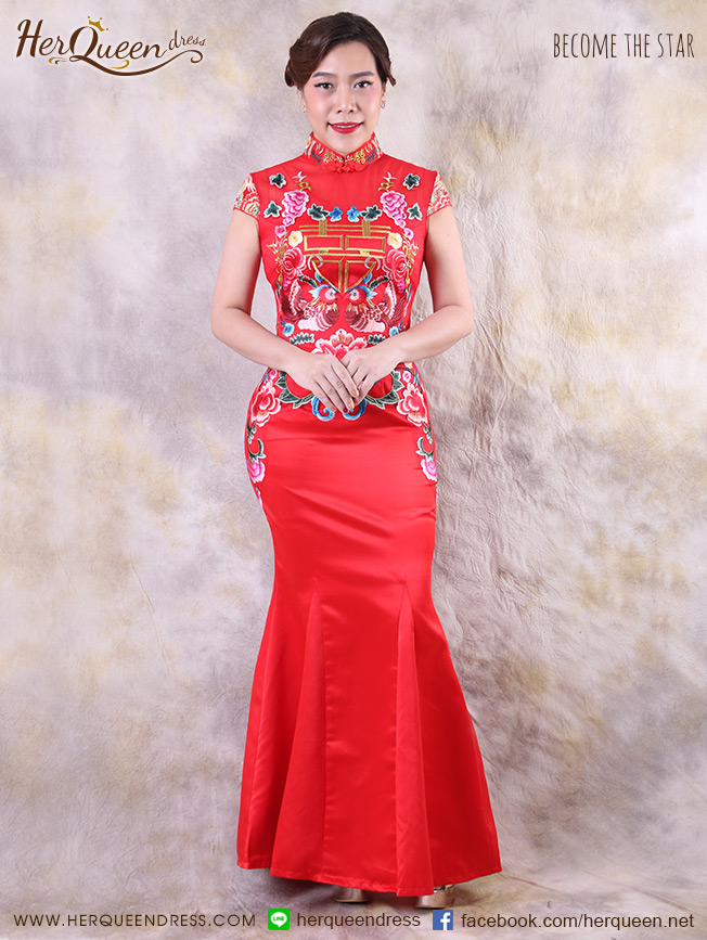 ชุดแต่งงานจีน