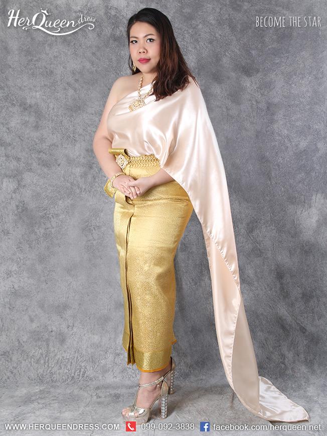 ชุดไทยคนอ้วน