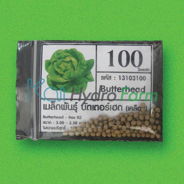 เมล็ดพันธุ์ Butter Head (เคลือบ) 100 เมล็ด