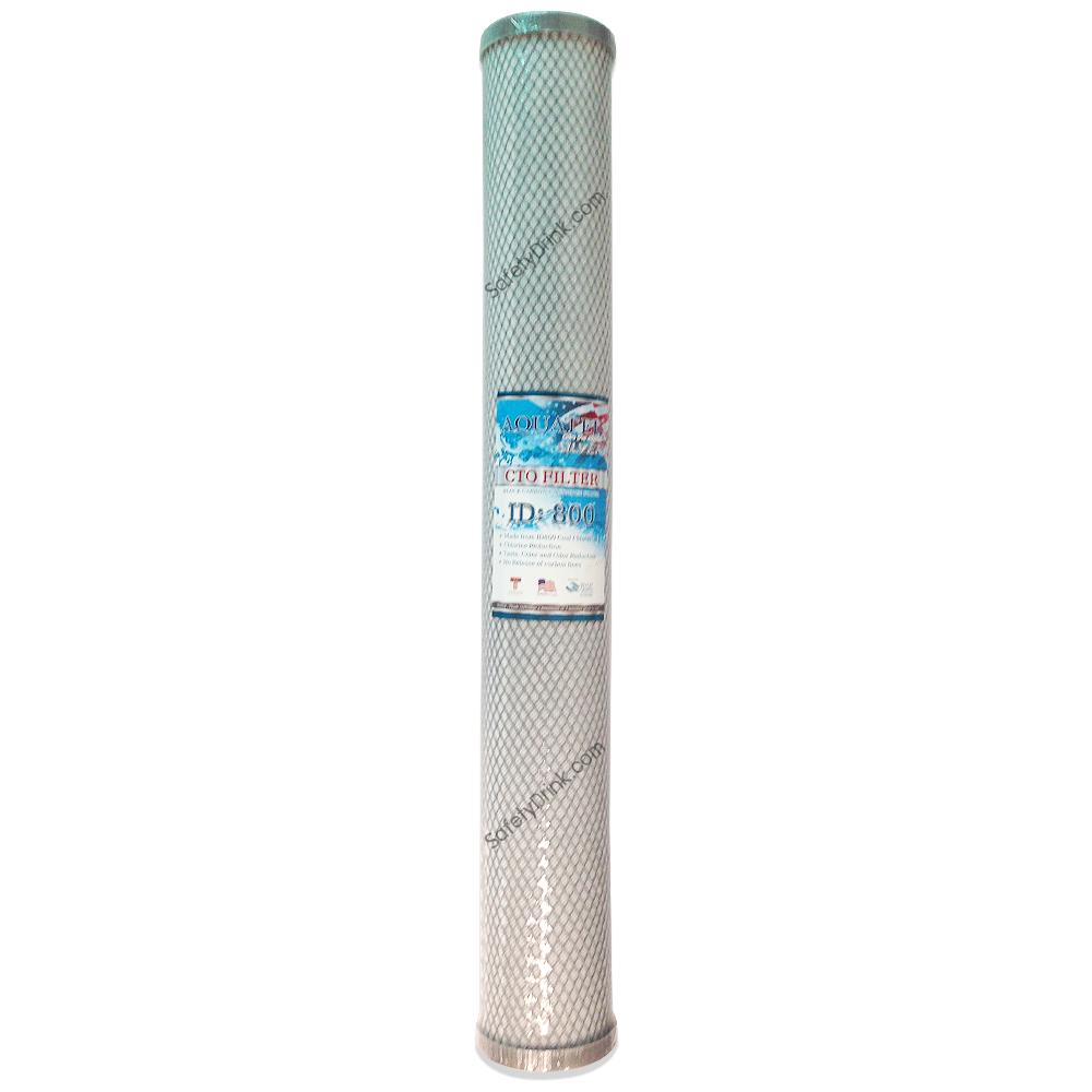 ฺBlock Carbon AQUATEK SILVER 20 ID 800 (คุณภาพสูง)
