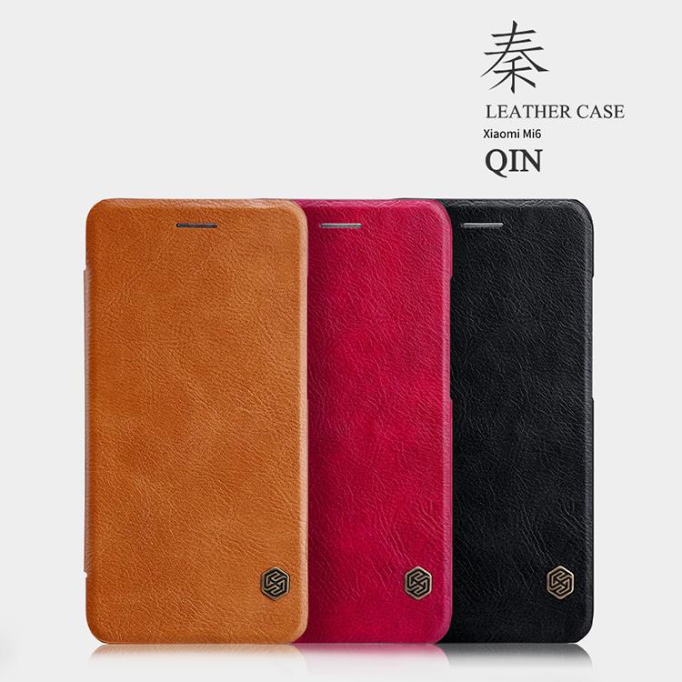 เคสมือถือ Xiaomi Mi6 รุ่น Qin Leather Case