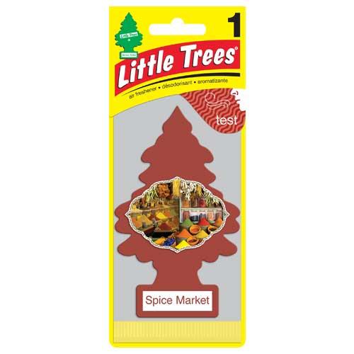 Little Trees กลิ่น Spice Market (กลิ่นหอมแนวอโรมา)