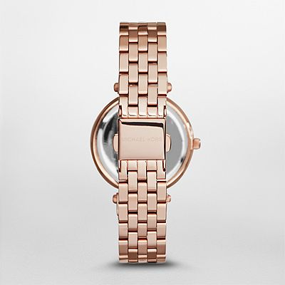 cd502884906c นาฬิกาข้อมือ Michael Kors MK3366 Michael Kors Mini Darci Rose Gold Tone  Dial Steel Ladies Watch - DodeeLadyShop จำหน่ายนาฬิกาข้อมือยี่ห้อ Michael  Kors