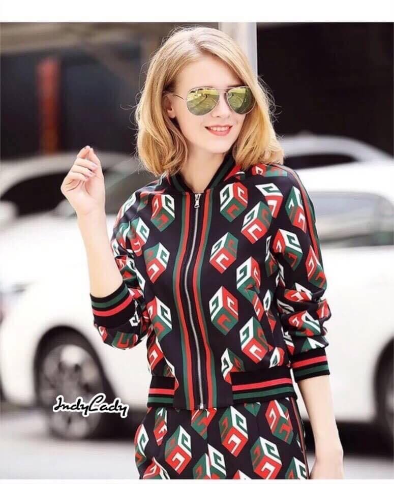 SETเสื้อ+กางเกง งาน brand Gucci