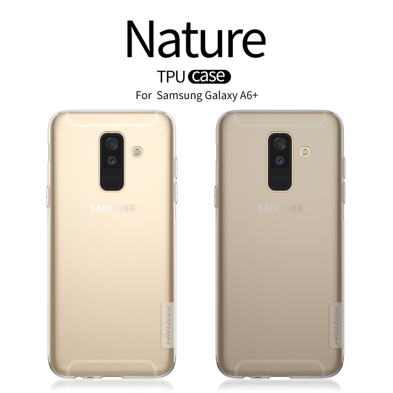 เคสมือถือ Samsung Galaxy A6+ (A6 Plus) รุ่น Nature TPU Case