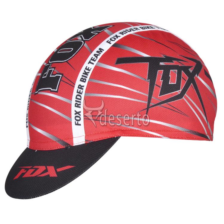 หมวกแก๊บ Fox 2014 สีแดงดำ
