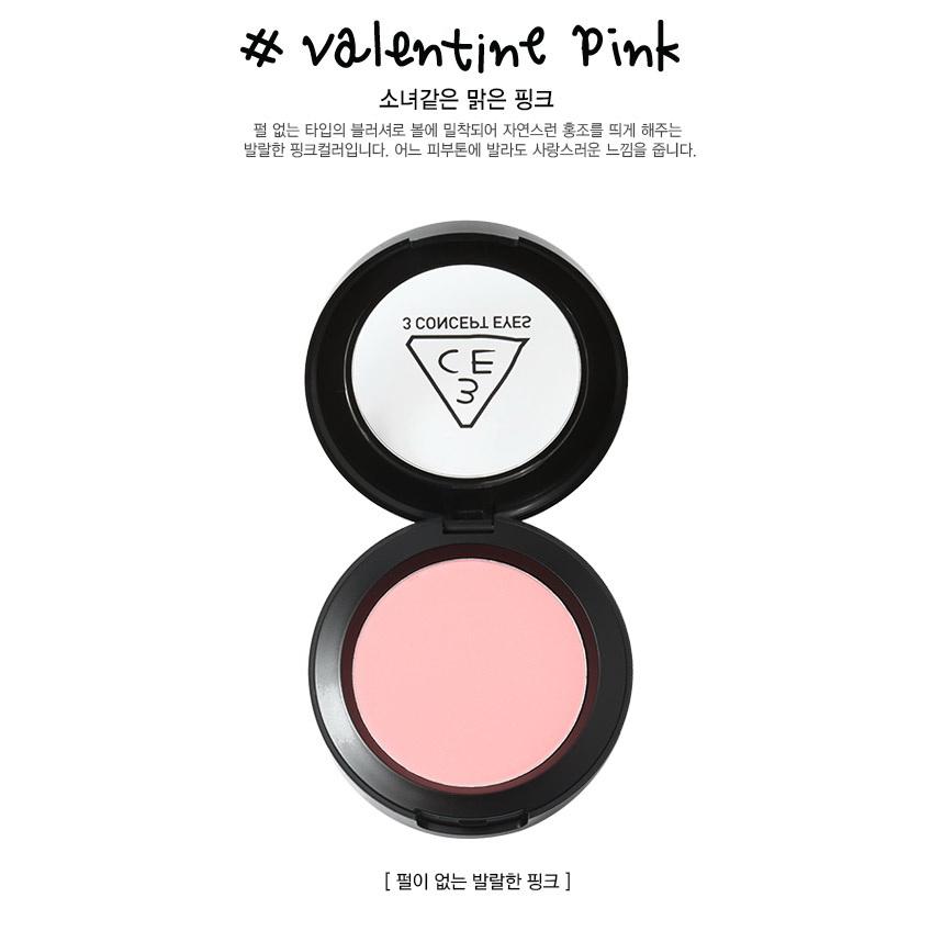 3CE Stylenanda Face Blush [VANLENTINE PINK]
