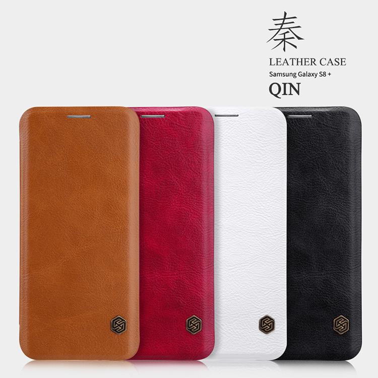 เคสมือถือ Samsung Galaxy S8+ รุ่น Qin Leather Case