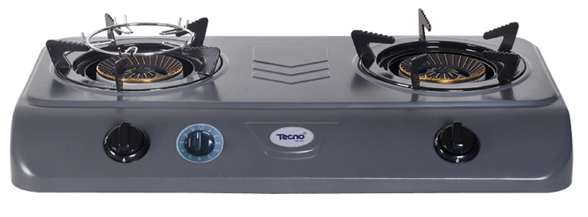 เตาแก๊ส Tecnogas รุ่นTNS G 04 (.02)(ปรับ timer)