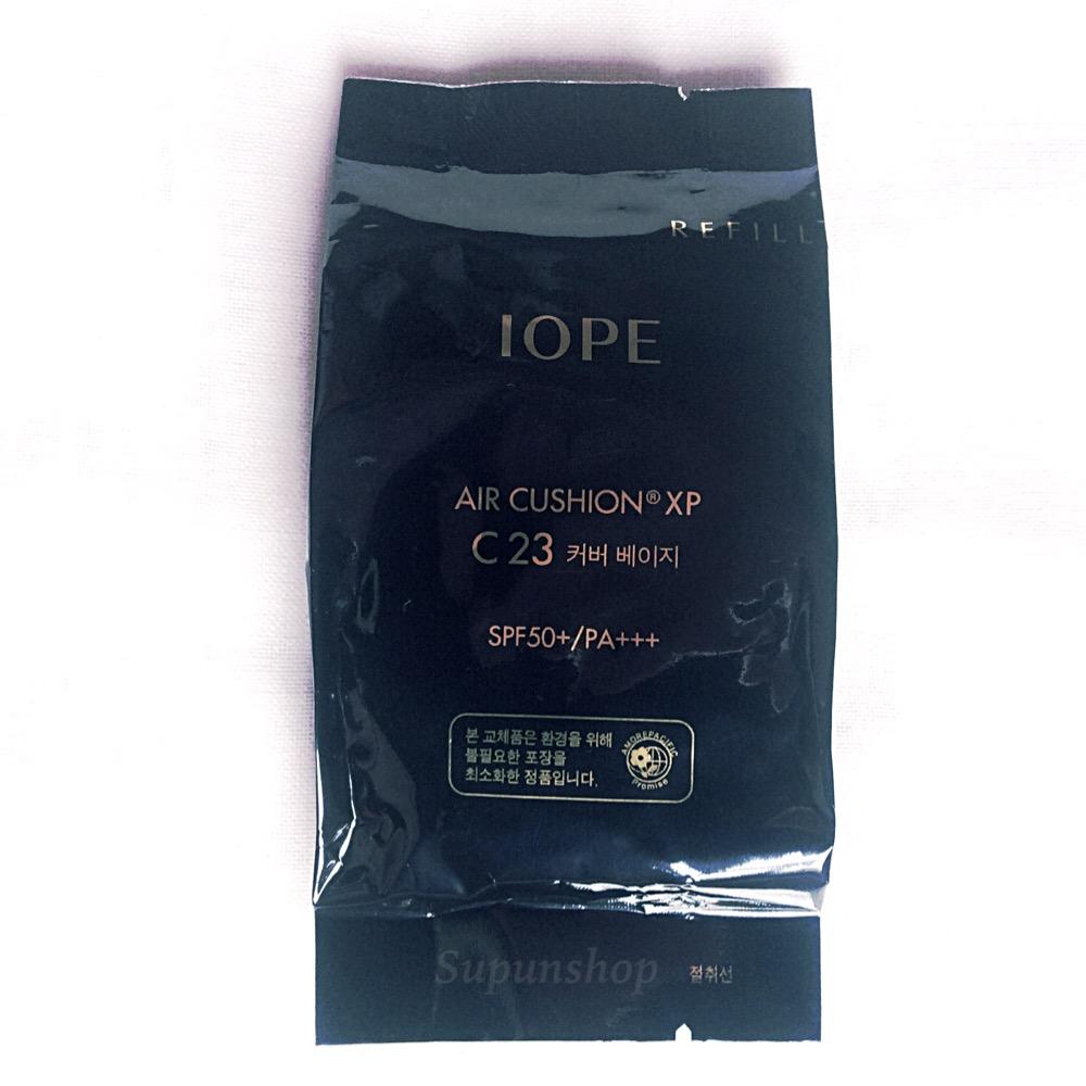 ++พร้อมส่ง++IOPE Air Cushion XP Cover SPF50+/PA+++(C23- Cover Beige ) 15g รีฟิล สำหรับผิวผสม