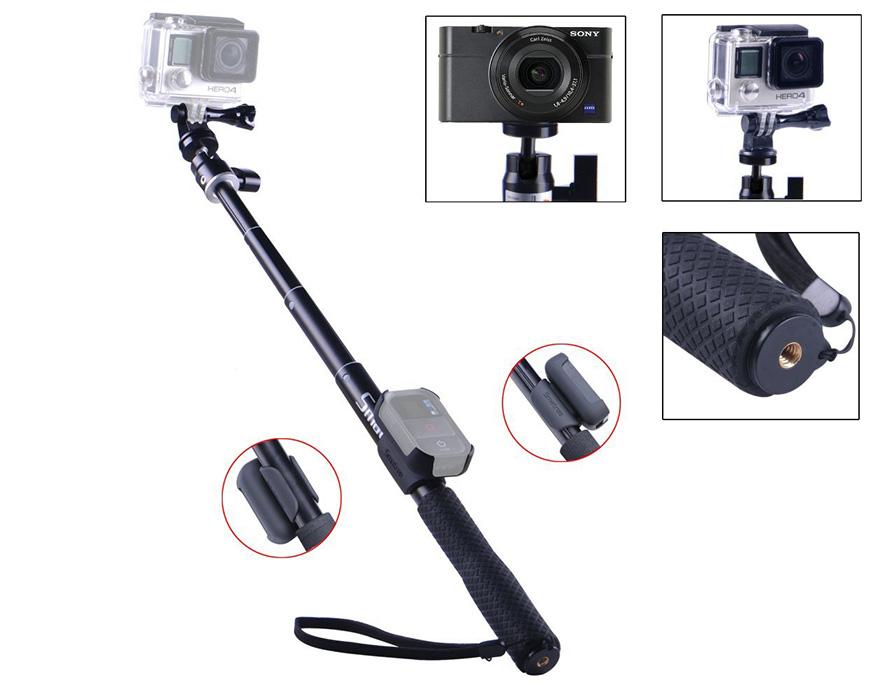 ไม้ Pole กล้อง GoPro ยี่ห้อ Smatree รุ่น SmaPole Q2 + ซองรีโมท [ 11.8 - 36.6 นิ้ว ]