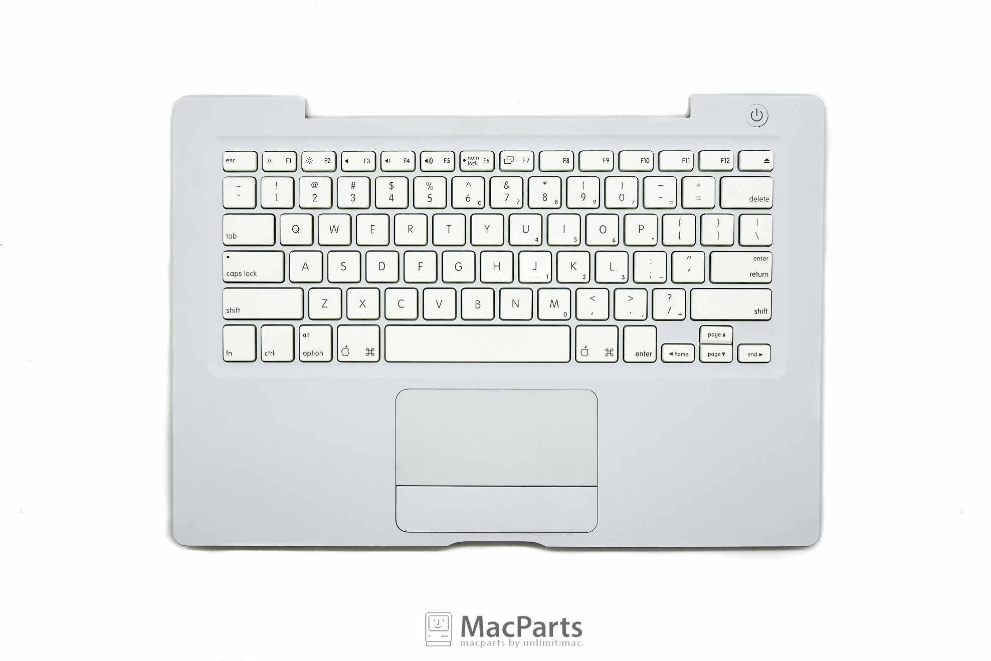 922-7754-US Top Case MacBook White US