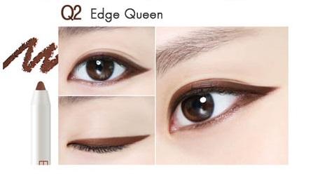 ++พร้อมส่ง++Eglips Ultra Auto Gel Eyeliner The Queen Series 0.5g เบอร์ Q2 Edge Queen สีน้ำตาลเข้ม เขียนง่าย สีสวย ติดทนนาน