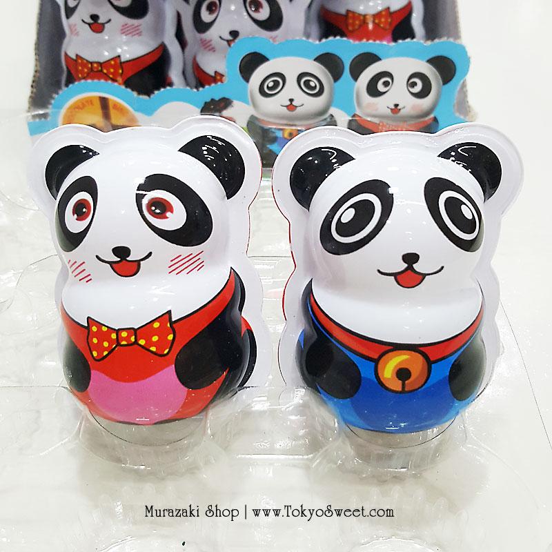 พร้อมส่ง ** Choco Egg - Panda ไข่ช็อคโกแลต แถมของเล่น 1 ลูก (สินค้ามีอย.ไทย)