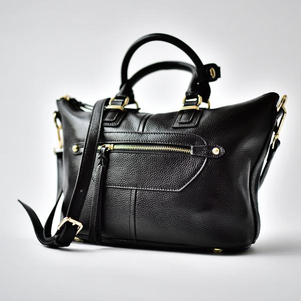 Prow Black กระเป๋าหนังแท้สไตล์ยุโรป