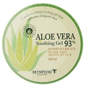 ++พร้อมส่ง++Skinfood Aloe Vera 93% Soothing Gel 300ml เจลบำรุงผิวว่านหางจระเข้ 93%