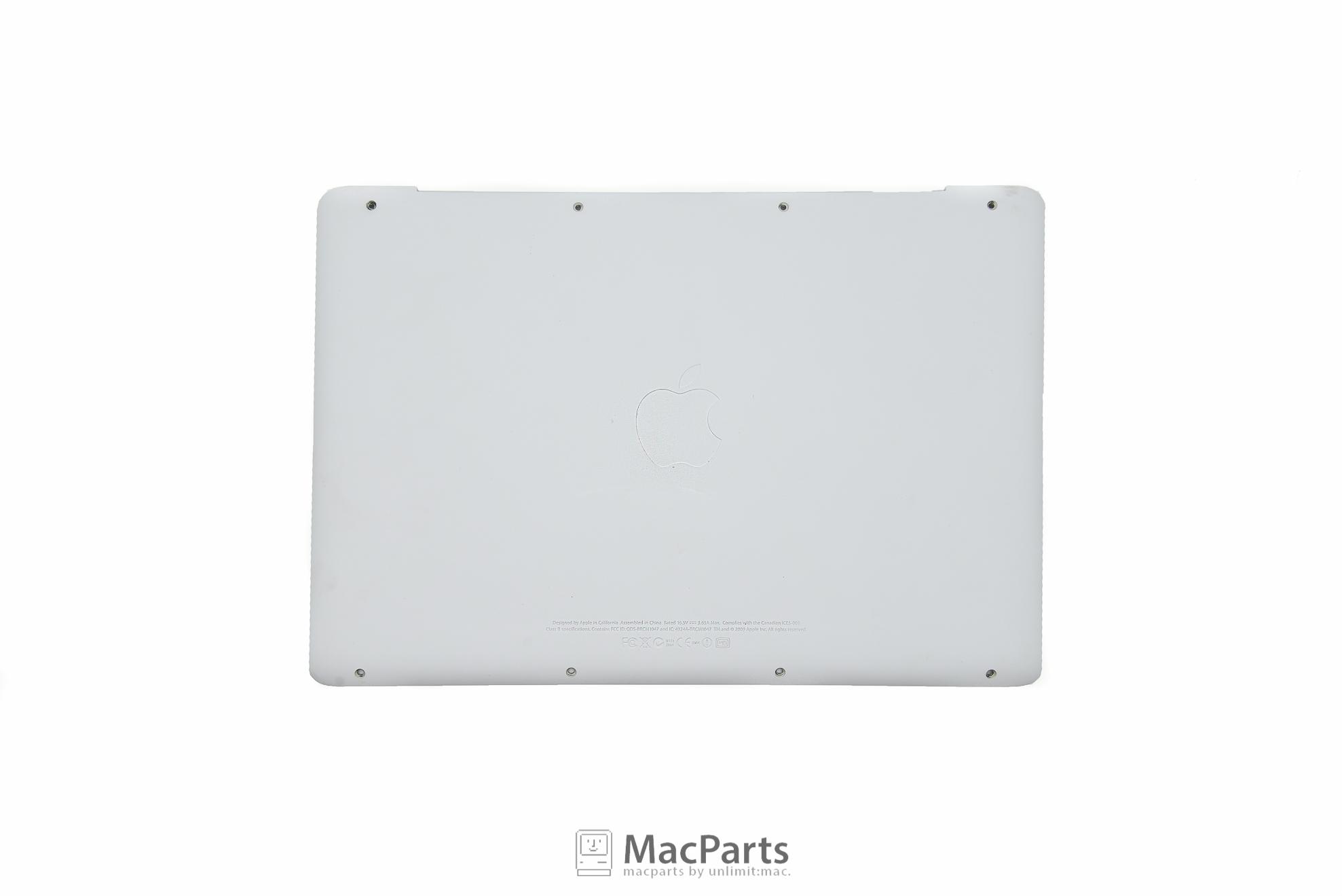 604-1033 Bottom Case For MacBook White Unibody 2009-2010 80%
