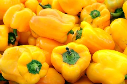 Yellow Sweet Pepper (พริกหวานแคลิฟอร์เนีย)