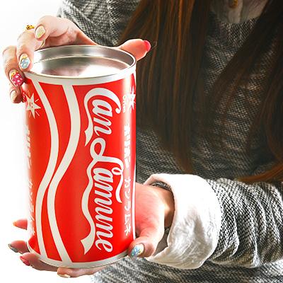 พร้อมส่ง ** Jumbo Cola ลูกอมรสโคล่า 10 กล่อง ใส่มาในกระป๋องโค้กอลูมิเนียมใหญ่บิ๊กเบิ้ม