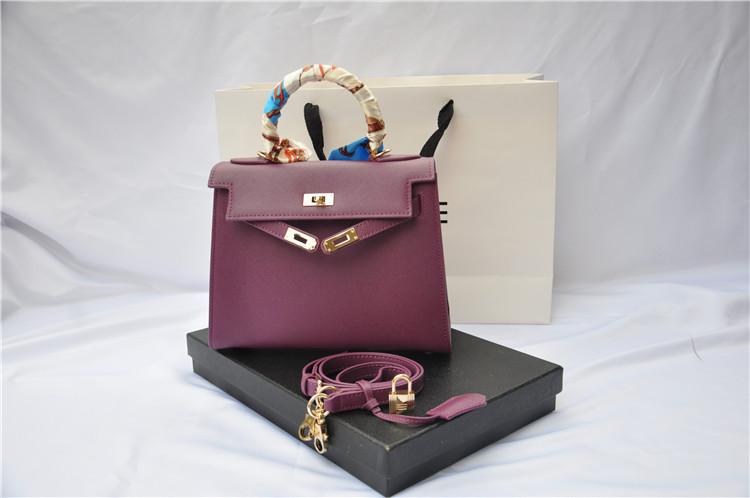 กระเป๋า hermes Kelly size 20 Purple
