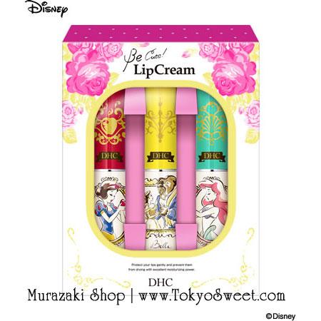 พร้อมส่ง ** DHC Lip Cream 1.5g Japan Limited DISNEY Princess Be Cute! สุดยอดลิปมัน ช่วยบำรุงริมฝีปากนุ่มชุ่มชื้น ไม่แห้งคล้ำ มาในแพคเกจแบบลิมิตเต็ดลาย Snow White, Beauty and the Beast และ Little Mermaid สุดน่ารัก