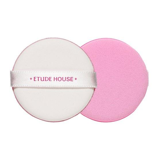 ++พร้อมส่ง++Etude House magic any cushion pink puff พัฟทารองพื้น บีบีครีม พัฟนุ่ม เกลี่ยง่าย ผิวเรียบเนียน สม่ำเสมอ