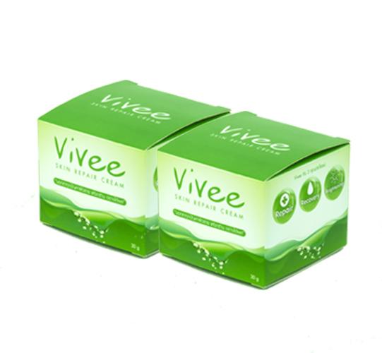 Vivee Skin Repair Cream 2 กระปุก