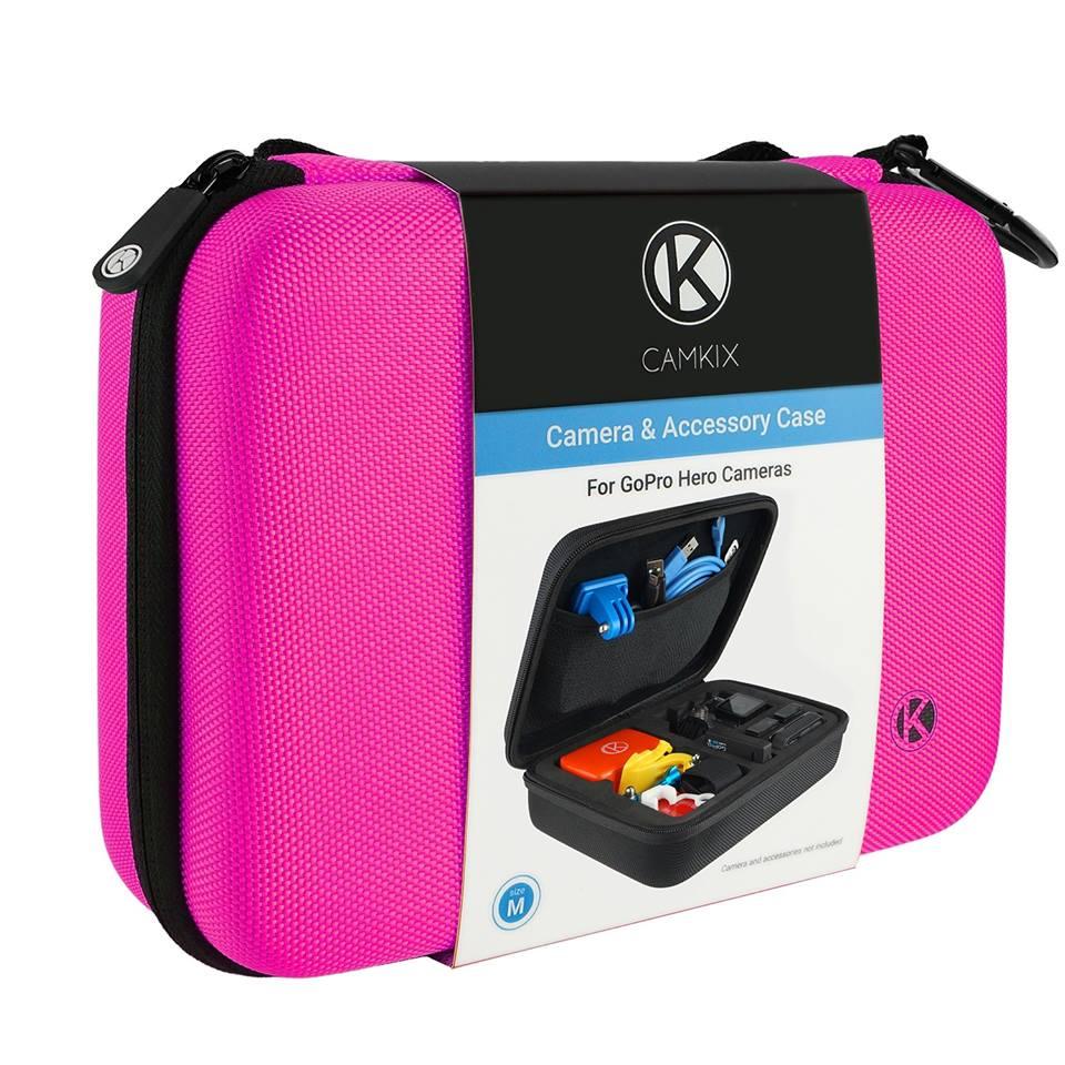 กระเป๋ากล้อง GoPro รุ่น Camkix M [ชมพู] รุ่น ** Limited Edition **