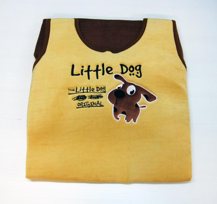 หุ้มเบาะ Little Dog (น้ำตาล)