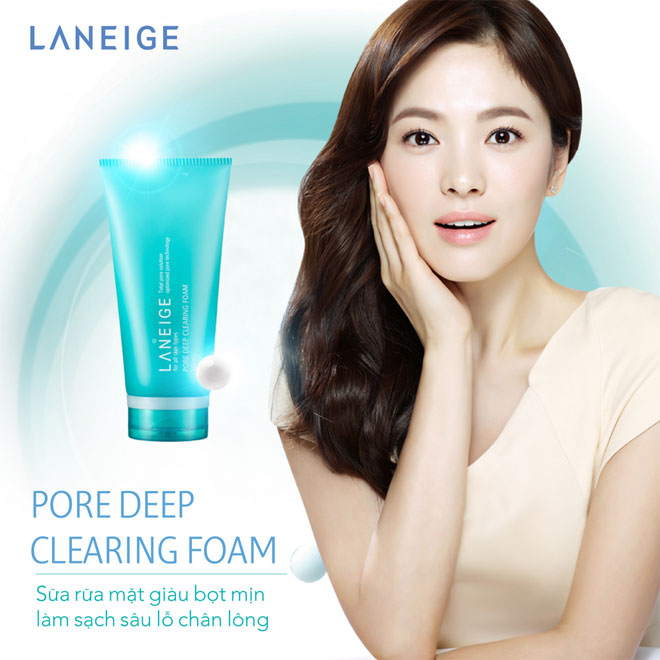 ++พร้อมส่ง++Laneige Pore Deep Clearing Foam 160ml