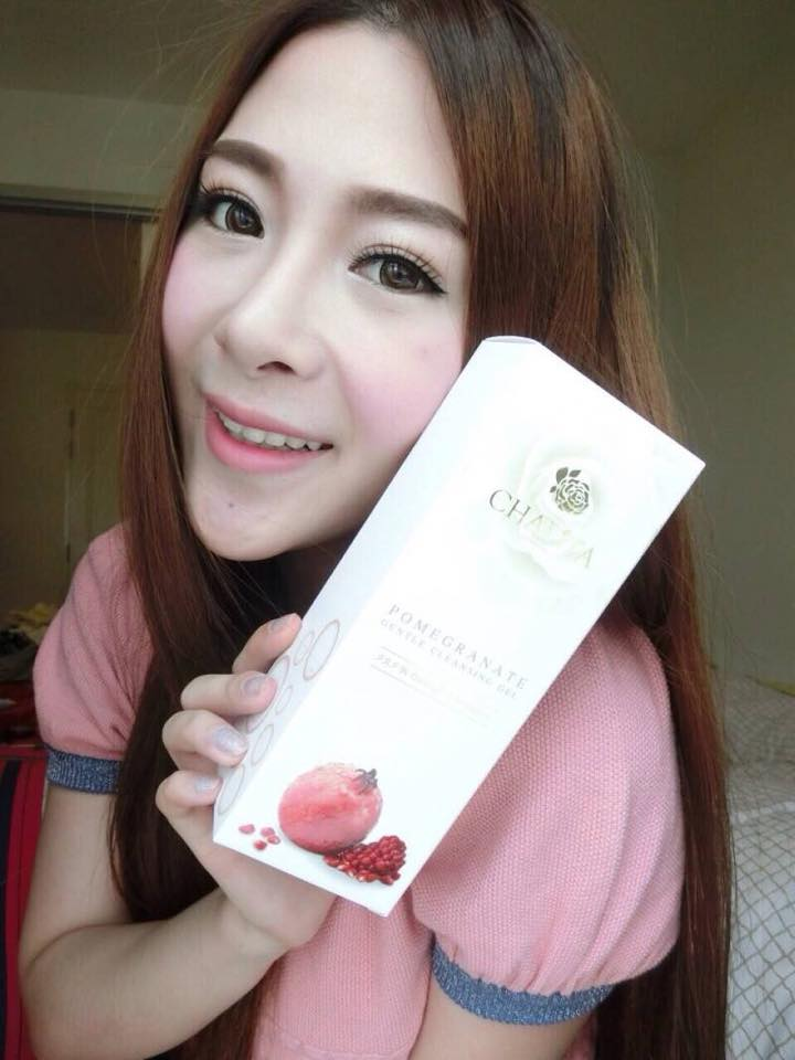 CHALITA Pomegranate Gentle Cleansing Gel เจลล้างหน้า