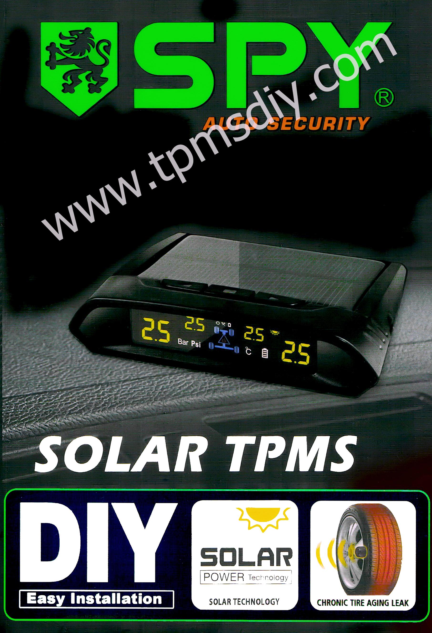 TPMSDIY SPY X-7 Max 50 PSI