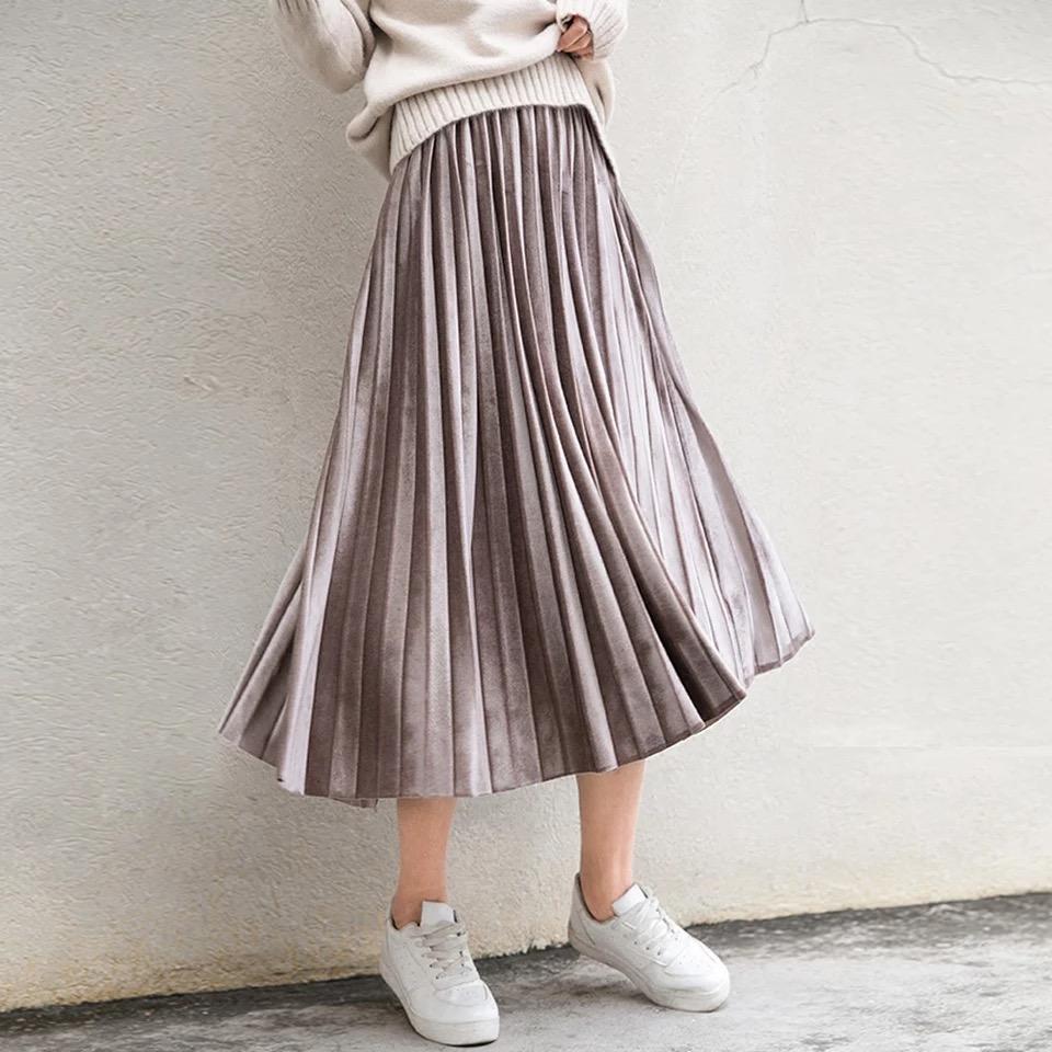 Pre Velvet Skirt