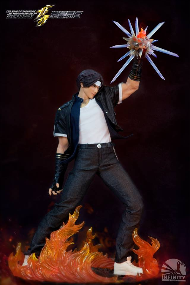 Infinity Studio 1/4 The King Of Fighters: Destiny - KYO