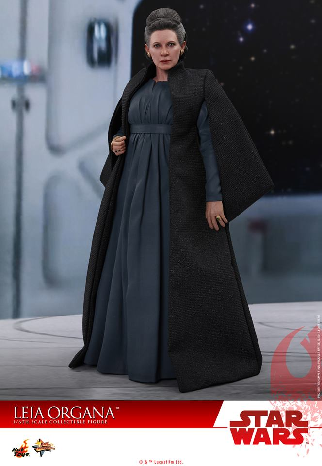 Hot Toys MMS459 STAR WARS: THE LAST JEDI - LEIA ORGANA