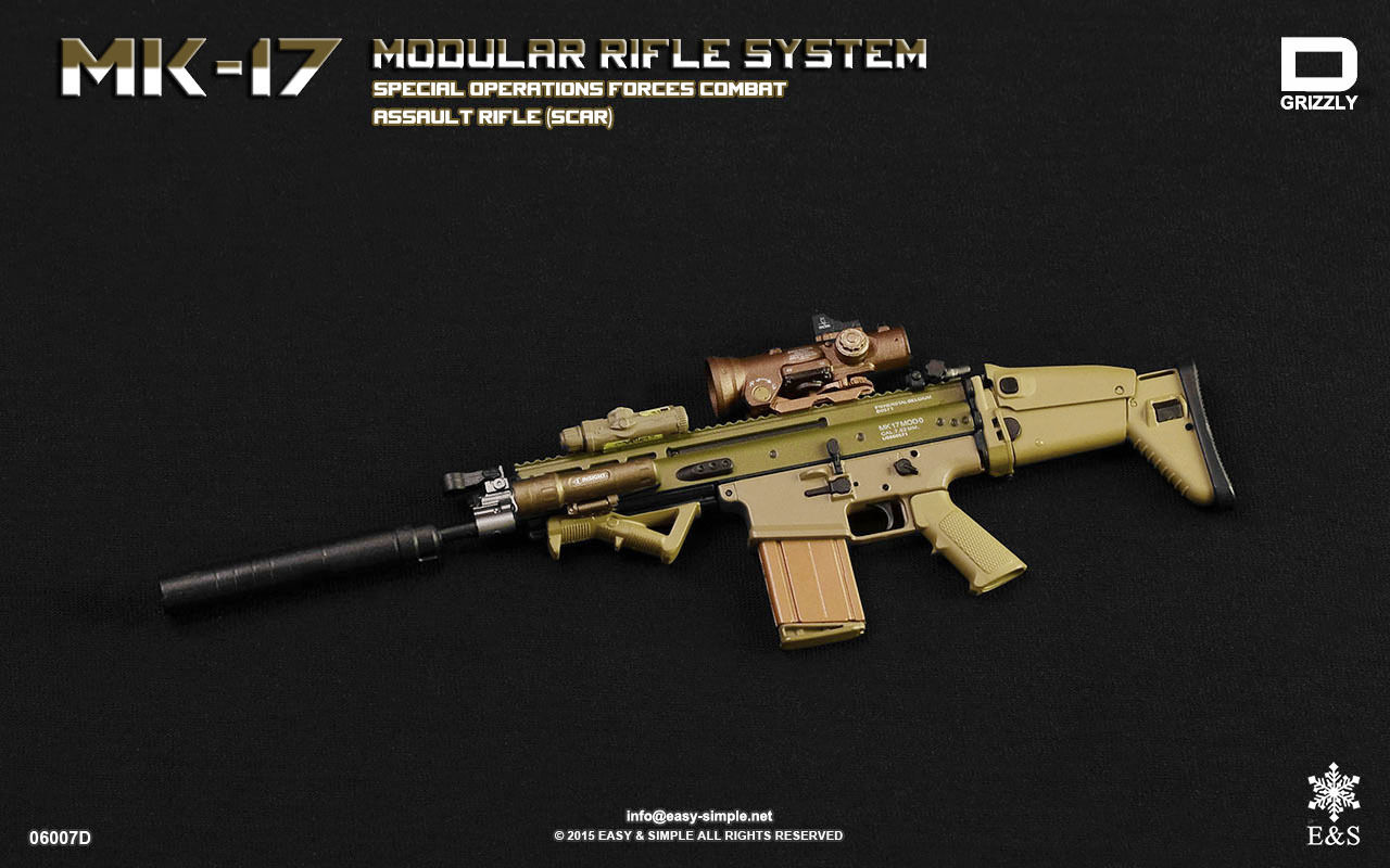 Easy & Simple 06007D MK-17 MODULAR RIFLE SYSTEM