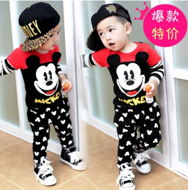 Pre-order ชุดเสื้อ+กางเกงมิคกี้เมาส์ /Disney(สินค้าลิขสิทธิ์)