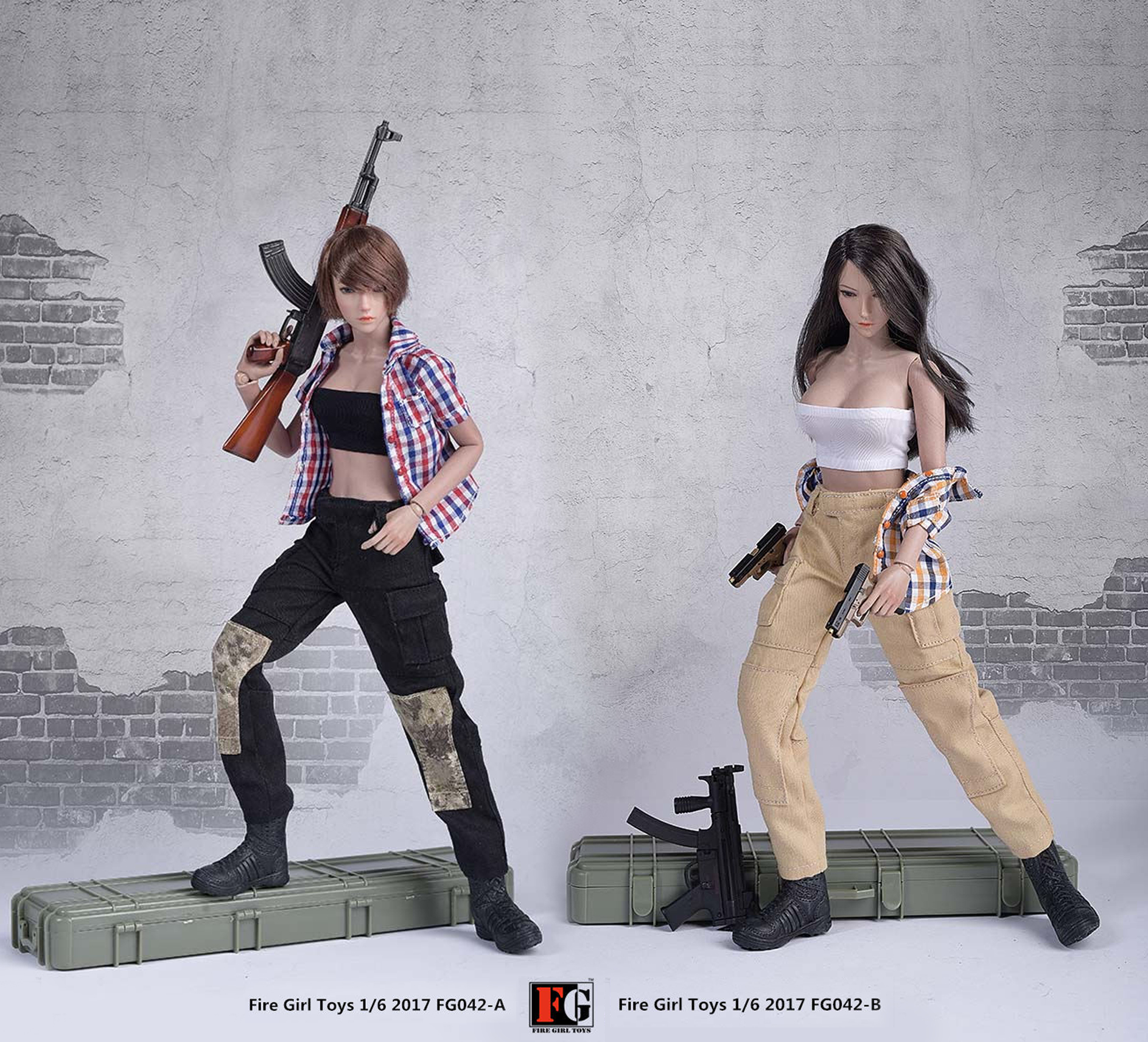 Fire Girl Toys FG042 PMC Women's Set