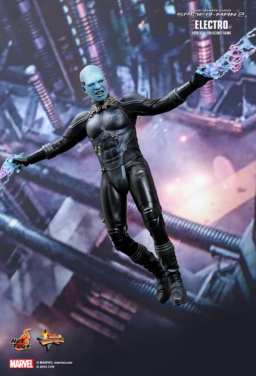 Hot Toys MMS246 THE AMAZING SPIDER-MAN 2 - ELECTRO