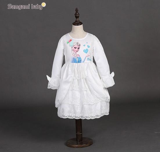 Pre-order ชุดเอลซ่า / Size 130 / White